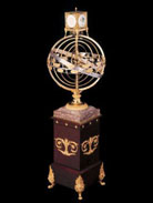 """Epmosphere"": presentation of the armillary sphere of Joseph Dupressoir"". Joint Swiss-Russin project for the study and exhibiting of the 18th century armillary sphere. The exhibition was timed to Leonard Ehler's anniversary. The MAE RAS, October 13, 2006"