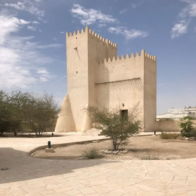 """Research Trip to Qatar Following the Project """"The Material"""